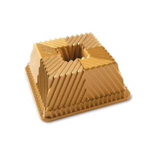 Forma do babki SQUARED GOLD / Nordic Ware